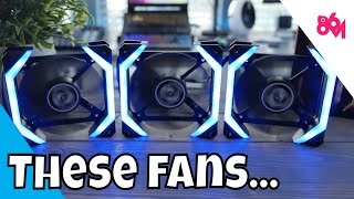 ABKONCORE SPIDER Fans Overview!