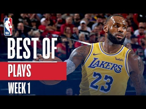 NBA's Best Plays | Week 1