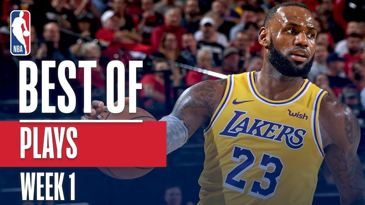 NBA's Best Plays | Week 1 image