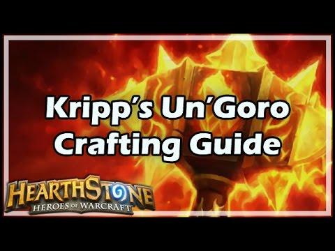 [Hearthstone] Kripp's Un'Goro Crafting Guide