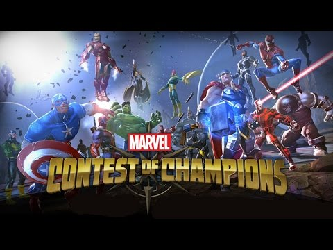 Official Marvel Contest of Champions (iOS / Android) Announcement Trailer