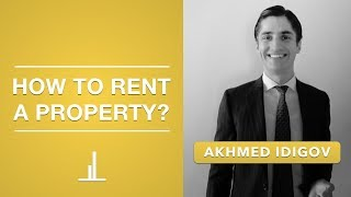 How to Rent a Property in Dubai?