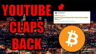 UPDATE: YouTube Answered Back ????[Crypto Channels Getting Purged]
