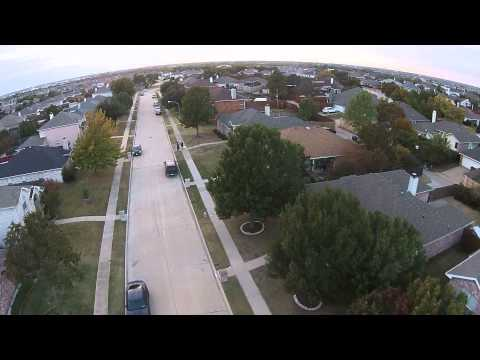 Drone Footage From Wylie, TX (No Sound)