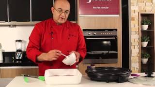 Bisteca de Porco Grelhada com Molho de Manteiga e Limão