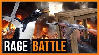 Killer Pinguine und Mörder Tische - Ultimate Battle Simulator - Ricks Rage