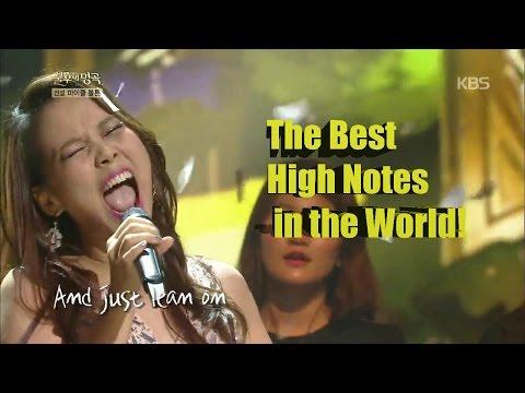 소향 So Hyang - The Best High Notes in the World