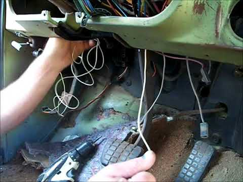 installing door activated dome light/courtesy light switches in 67-72 chevy  truck