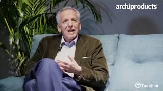 Salone del Mobile 2019 | TACCHINI - Gianni Ottolini presenta il divano Sella