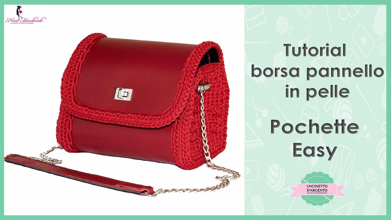 Tutorial Crochet Bag Pochette Easy With Sub Uncinetto D