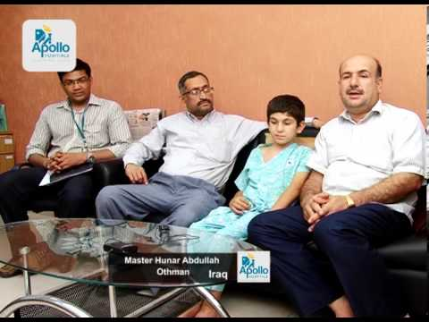 """Childs dream of a miracle being fulfilled"" -- Apollo Speciality Hospitals"