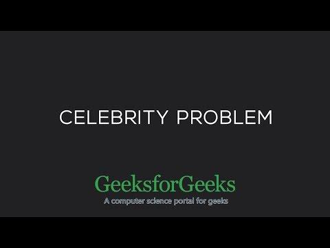 The Celebrity Problem | GeeksforGeeks