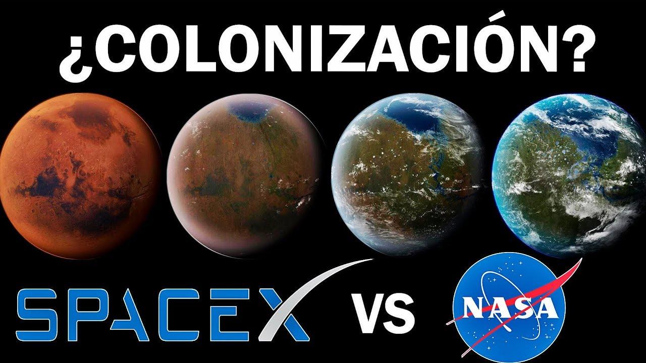 ¿Quién nos llevará primero a Marte?
