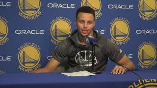 Curry relives tunnel run celebration, reflects on Klay's 60 point night