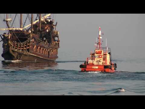 Skwer Kościuszki - Cumujący Galeon - Gdynia