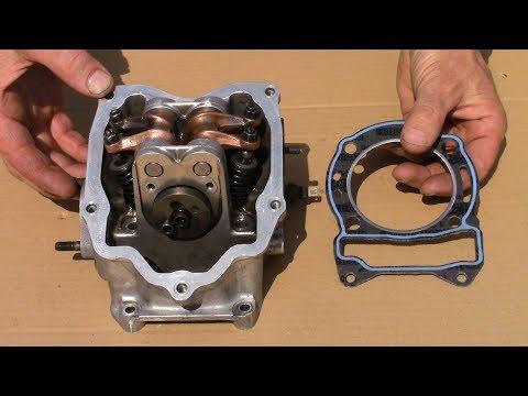Come cambiare la GUARNIZIONE della TESTATA dello SCOOTER(1°PARTE)-Gasket cylinder head(1st PART)