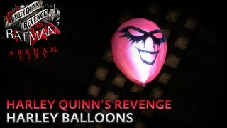 Batman: Arkham City - Harley Balloons [Party's Over Achievement / Trophy] - Harley Quinn's Revenge