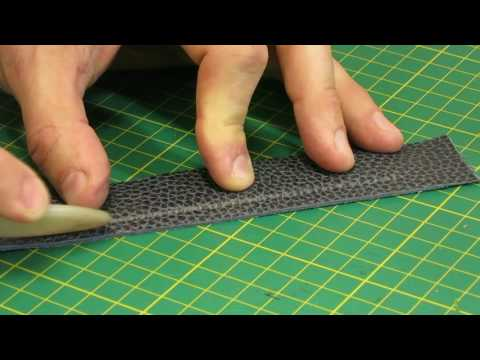 Making of leather watch strap - MK Leathers