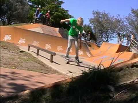 Bargara skate - weekend footage