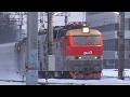 ЧС7-270 с поездом №131у Орск-Москва