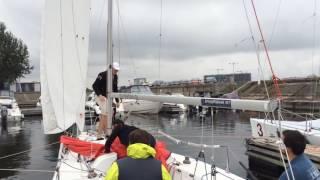 Обучение яхтингу / Спинакер