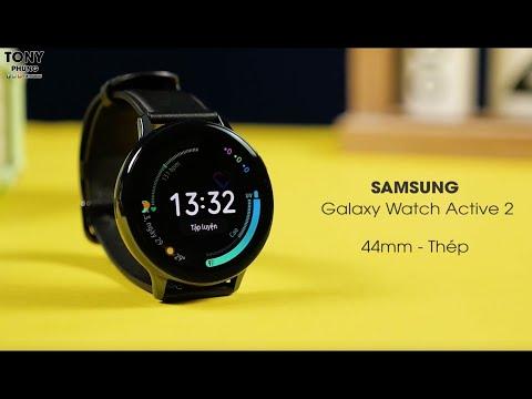 Trên Tay Galaxy Watch Active 2 - Rất đẹp, Mượt, Nhiều Tính Năng