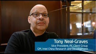 #Minuteofmotivation- Tony Neal-Graves- Vice President, Intel PC Client Group