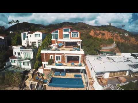 Take a tour of Broad Beach villa in Malibu