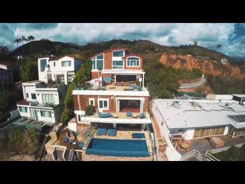 Take A Tour Of Broad Beach Villa In Malibu