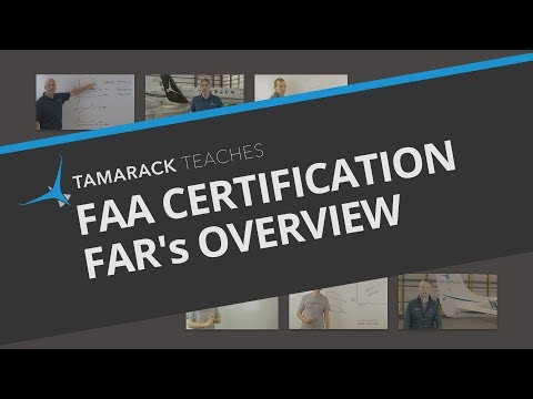 FAA Certification: FAR's overview