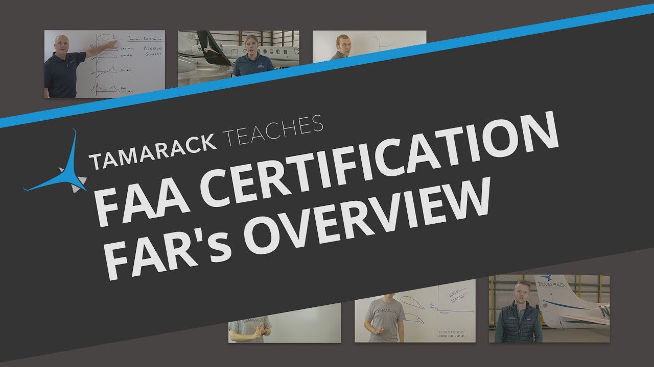 Faa Certification Fars Overview Youtube
