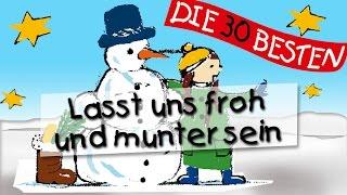 Lasst uns froh und munter sein -  Die besten Weihnachts- und Winterlieder || Kinderlieder thumbnail