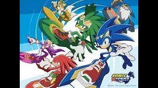 Sonic Riders Açılış Tema Müziği Türkçe