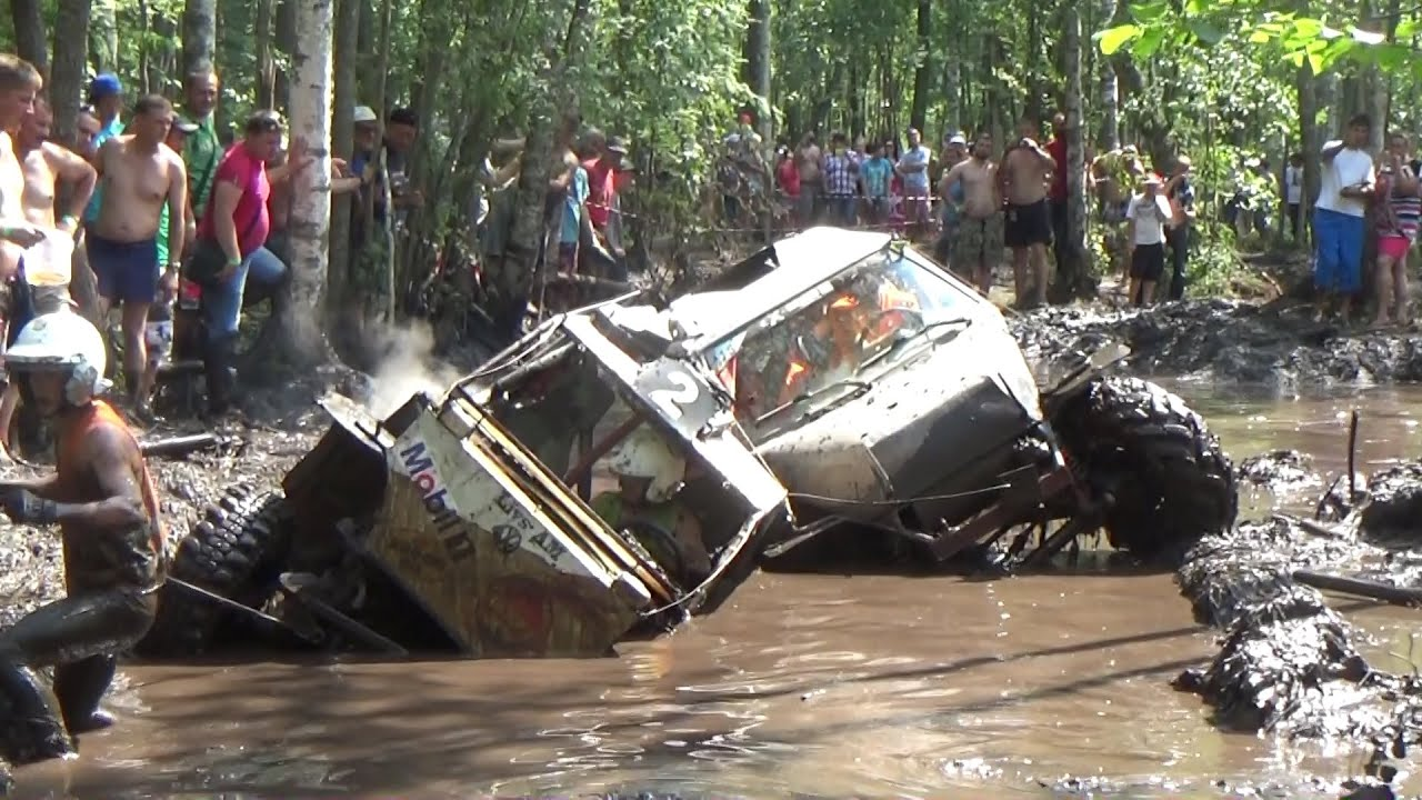 Off-Road race, Mud forest