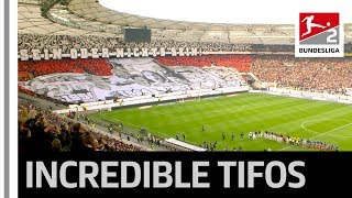 Two special derbies - unique fan choreographies► sub now: https://redirect.bundesliga.com/_bwcstwo rather took place in bundesliga 2 at t...