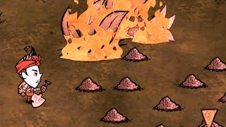 I was sponsored to stop CallMeKevin from setting everything on fire in Don't Starve Together