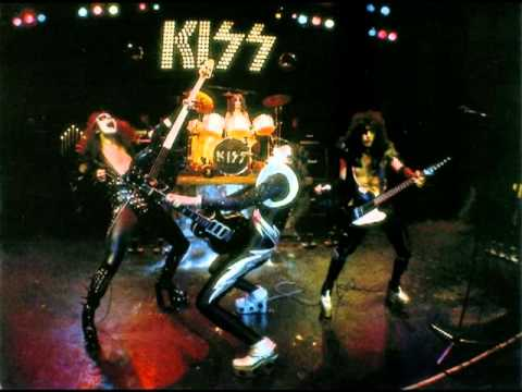 Kiss Cold Gin Kiss Alive Version 1976 Youtube