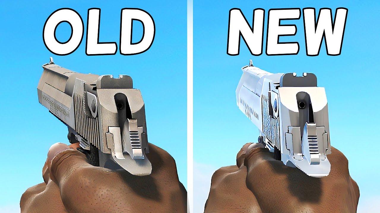 CS:GO - Original vs. Reanimated All Weapons Comparison 4K 60FPS thumbnail