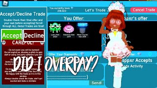 Did I Overpay for the mermaid halo?| Royale high