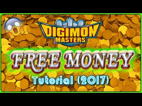 [GDMO]: Get TONS OF TERAS FOR FREE!! - How to get Easy Money in Digimon Masters (2017) [FIXED]
