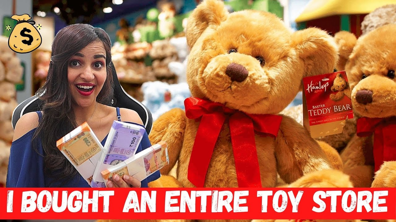 I Bought AN ENTIRE TOY STORE ( Felt STUPID)