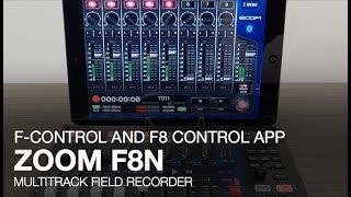 Zoom F8n: F-Control and F8 Control App
