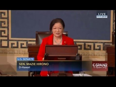Video: Hawaii Senator Hirono Speaks Out Against Growing Xenophobic Sentiments