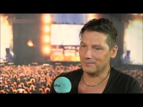 Interview mit Drummer Rammstein Christoph Schneider @ Wacken 2013