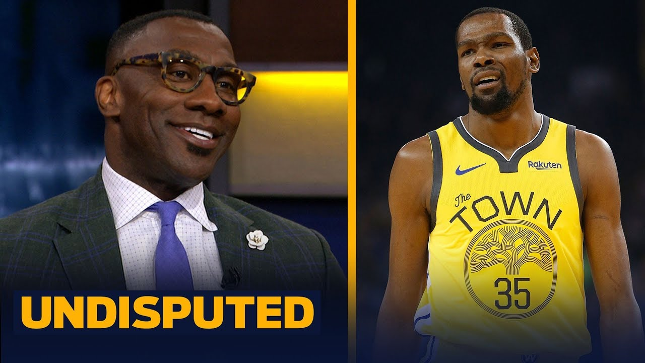 0a07120f7f1 Shannon Sharpe addresses Kevin Durant s Instagram response to his ...