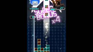 LUMINES Puzzle & Music (iOS) - Hard Mode