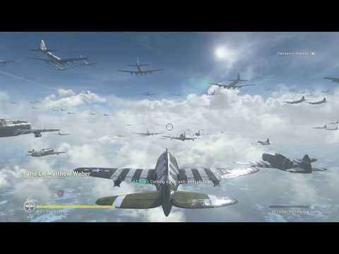 Call Of Duty ww2 - Epic Dogfight Mission Gameplay!