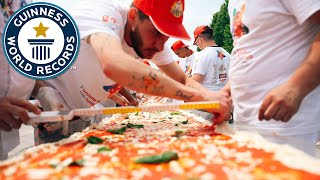 Mile-Long Pizza - Guinness World Records