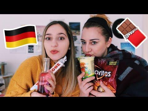 Δοκιμάζουμε Γερμανικά Snacks Με Τη Μαμά Μου! 🇩🇪