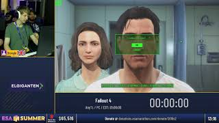 (0.01 MB) #ESASummer18 - Fallout 4 [Any%] by Brongle Mp3